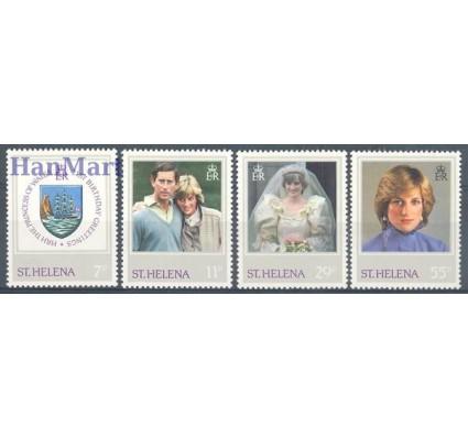 Znaczek Wyspa św. Heleny 1982 Mi 361-364 Czyste **