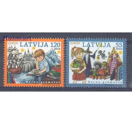 Znaczek Łotwa 2010 Mi 783-784 Czyste **
