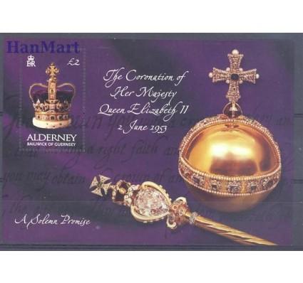 Znaczek Alderney 2003 Mi bl 13 Czyste **
