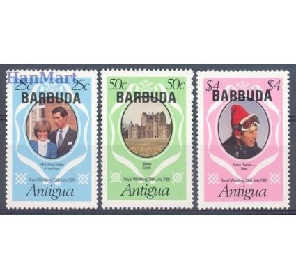Znaczek Barbuda 1981 Mi 568-570 Czyste **