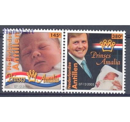 Znaczek Antyle Holenderskie 2004 Mi 1262-1263 Czyste **