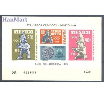 Meksyk 1965 Mi bl 3 Czyste **