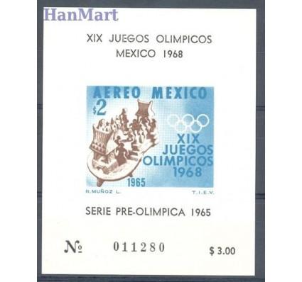 Meksyk 1965 Mi bl 4 Czyste **
