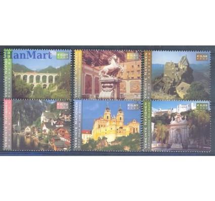 Znaczek Narody Zjednoczone Wiedeń 2002 Mi 351-356 Czyste **