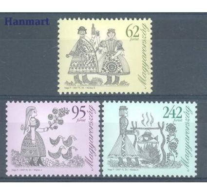 Znaczek Węgry 2007 Mi 5141-5143 Czyste **