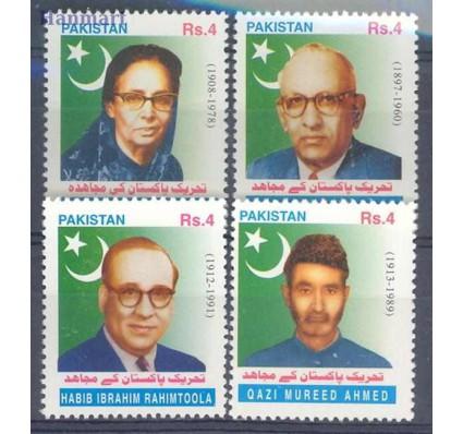 Znaczek Pakistan 2002 Mi 1128-1131 Czyste **