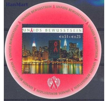 Znaczek Narody Zjednoczone Wiedeń 2002 Mi bl 16 Czyste **