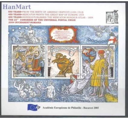 Znaczek Rumunia 2005 Mi bl 362 Czyste **