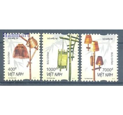 Znaczek Wietnam 2004 Mi 3320-3322 Czyste **