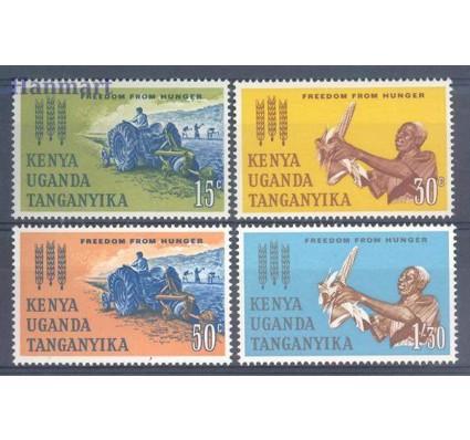 Znaczek Kenia Uganda Tanganyika 1963 Mi 124-127 Czyste **