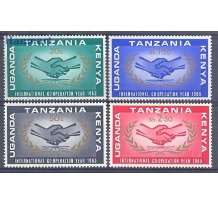 Znaczek Kenia Uganda Tanganyika 1965 Mi 144-147 Czyste **