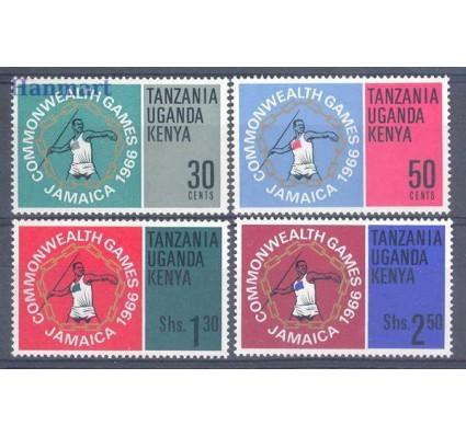 Znaczek Kenia Uganda Tanganyika 1966 Mi 152-155 Czyste **