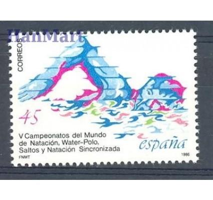 Znaczek Hiszpania 1986 Mi 2738 Czyste **