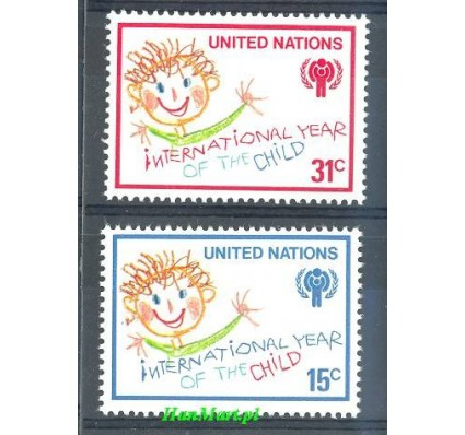 Narody Zjednoczone Nowy Jork 1979 Mi 334-335 Czyste **