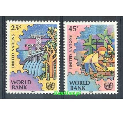 Znaczek Narody Zjednoczone Nowy Jork 1989 Mi 571-572 Czyste **