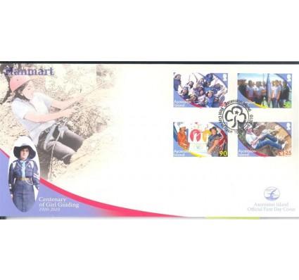 Znaczek Wyspa Wniebowstąpienia 2010 Mi 1103-1106 FDC