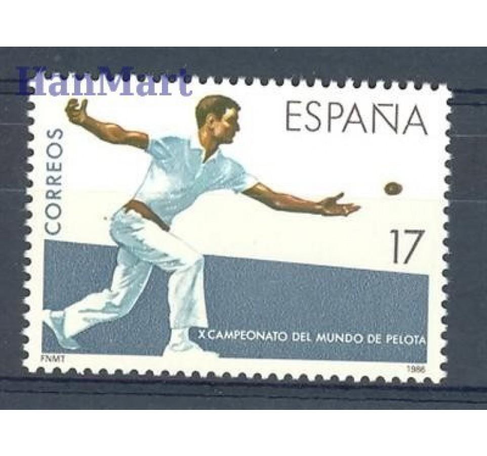 Hiszpania 1986 Mi 2740 Czyste **