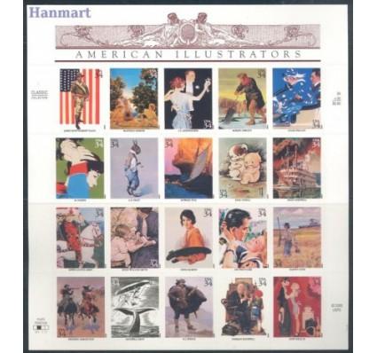 Znaczek USA 2001 Mi fol 3405-3424 Czyste **