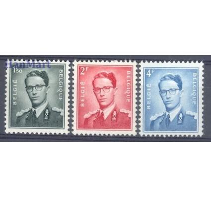 Znaczek Belgia 1953 Mi 973-975x Czyste **