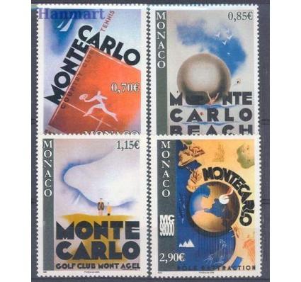 Znaczek Monako 2008 Mi 2867-2870 Czyste **
