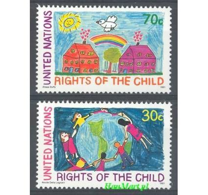 Narody Zjednoczone Nowy Jork 1991 Mi 615-616 Czyste **