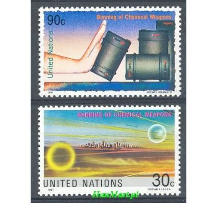 Narody Zjednoczone Nowy Jork 1991 Mi 617-618 Czyste **