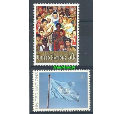 Narody Zjednoczone Nowy Jork 1991 Mi 619-620 Czyste **
