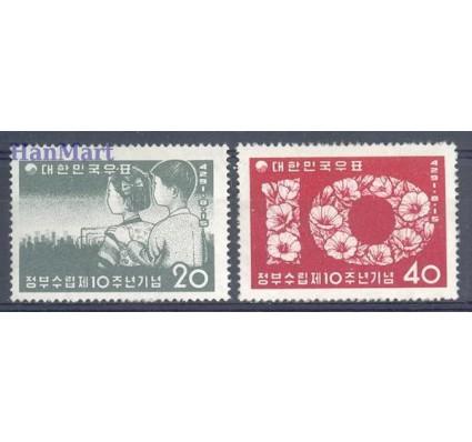 Znaczek Korea Południowa 1958 Mi 282-283 Czyste **