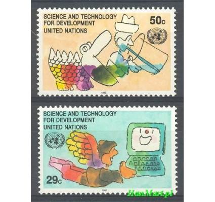 Narody Zjednoczone Nowy Jork 1992 Mi 635-636 Czyste **