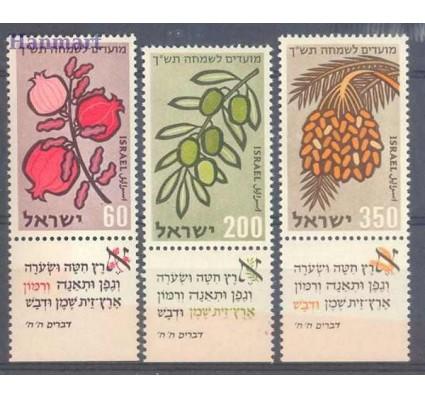 Znaczek Izrael 1959 Mi tab184-186 Czyste **
