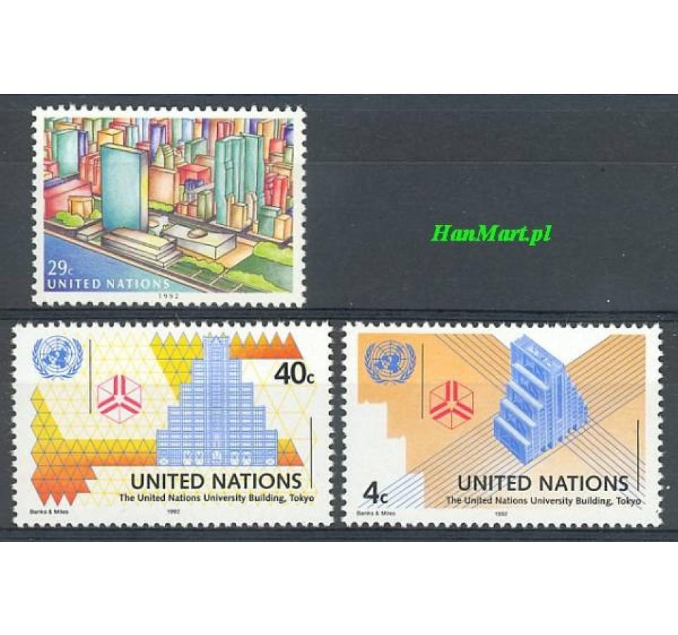 Narody Zjednoczone Nowy Jork 1992 Mi 637-639 Czyste **