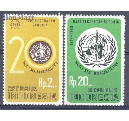Znaczek Indonezja 1968 Mi 603-604 Czyste **