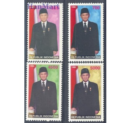 Znaczek Indonezja 1998 Mi 1816-1819 Czyste **