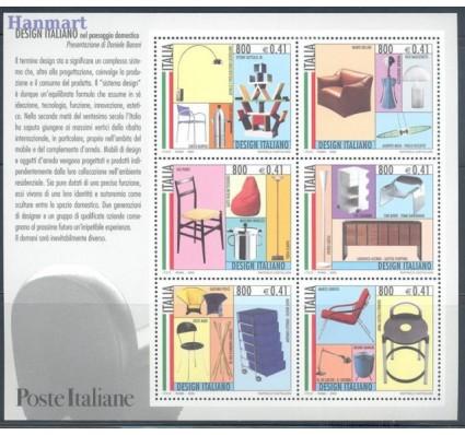 Znaczek Włochy 2000 Mi bl 22 Czyste **