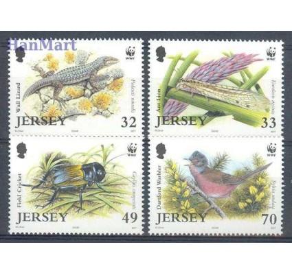 Znaczek Jersey 2004 Mi 1143-1146 Czyste **