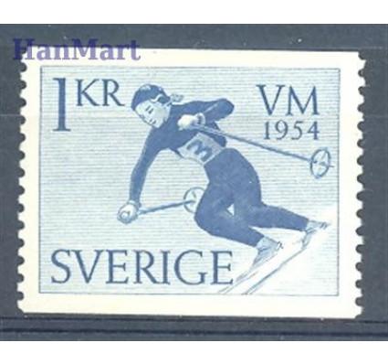 Znaczek Szwecja 1954 Mi 389A Czyste **
