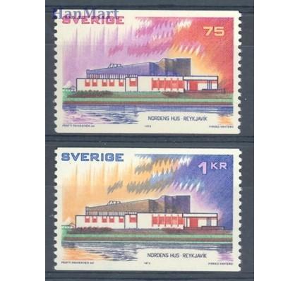 Znaczek Szwecja 1973 Mi 808-809 Czyste **
