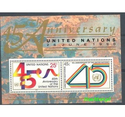 Narody Zjednoczone Nowy Jork 1990 Mi bl 11 Czyste **