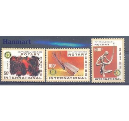 Znaczek Kongo Kinszasa / Zair 1980 Mi 658-660 Czyste **