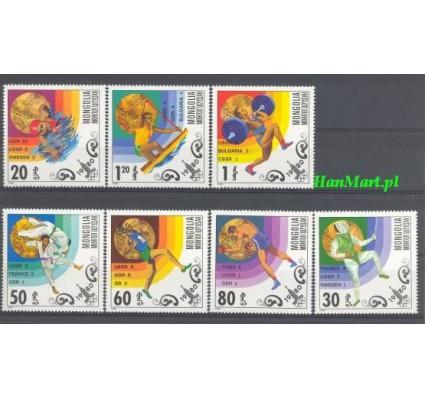 Mongolia 1980 Mi 1303-1309 Czyste **