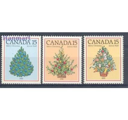 Znaczek Kanada 1981 Mi 811-813 Czyste **