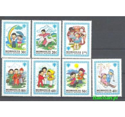 Znaczek Mongolia 1980 Mi 1348-1354 Czyste **