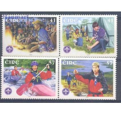 Znaczek Irlandia 2002 Mi 1419-1422 Czyste **