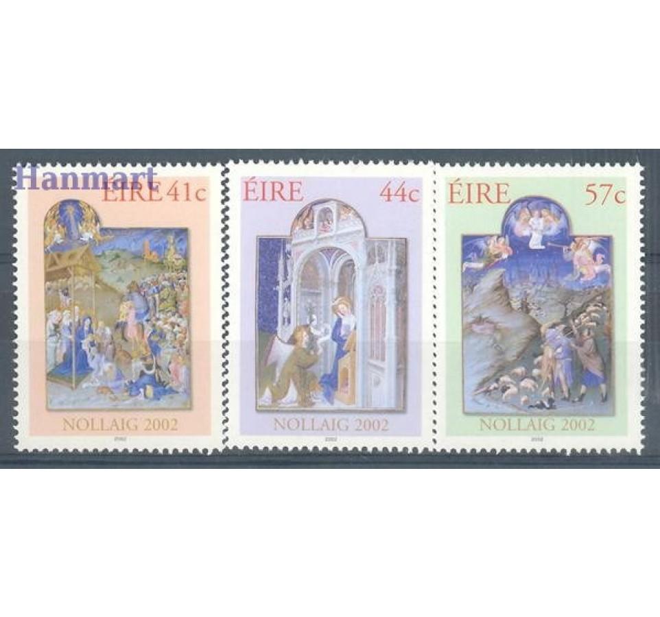 Irlandia 2002 Mi 1472-1474 Czyste **