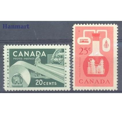Znaczek Kanada 1956 Mi 309-310 Czyste **