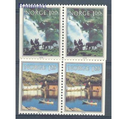 Znaczek Norwegia 1979 Mi 795-796D-D Czyste **