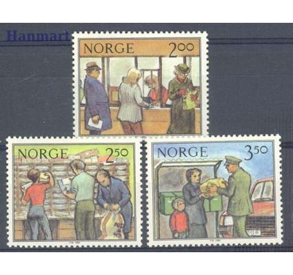 Znaczek Norwegia 1984 Mi 896-898 Czyste **