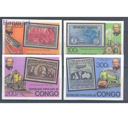 Znaczek Kongo 1979 Mi 680-683B Czyste **