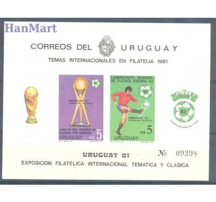 Znaczek Urugwaj 1981 Mi bl 51B Czyste **