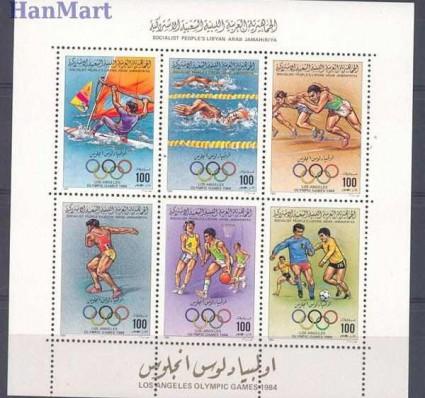 Znaczek Libia 1984 Mi 1379-1384 Czyste **